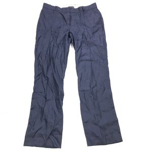 J crew Bristol Trouser In Herringbone Navy Blue